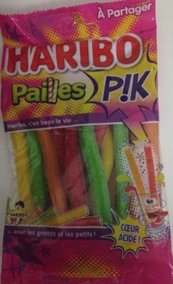 Haribo Pailles Pik - Produit