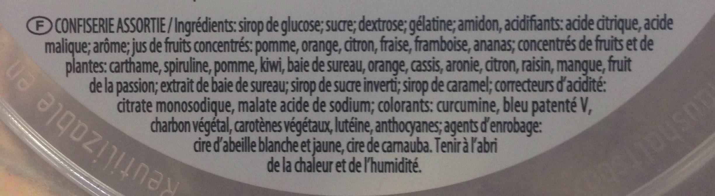 Haribo For You ! - Ingrédients - fr
