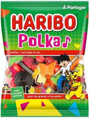 Haribo polka - Product - fr