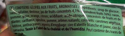 tropifun - Ingredients - fr