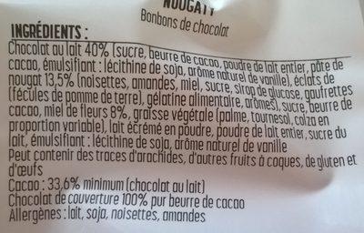 Nougaty - Ingredients