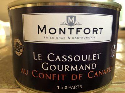Le Cassoulet Gourmand au confit de canard - Produit - fr