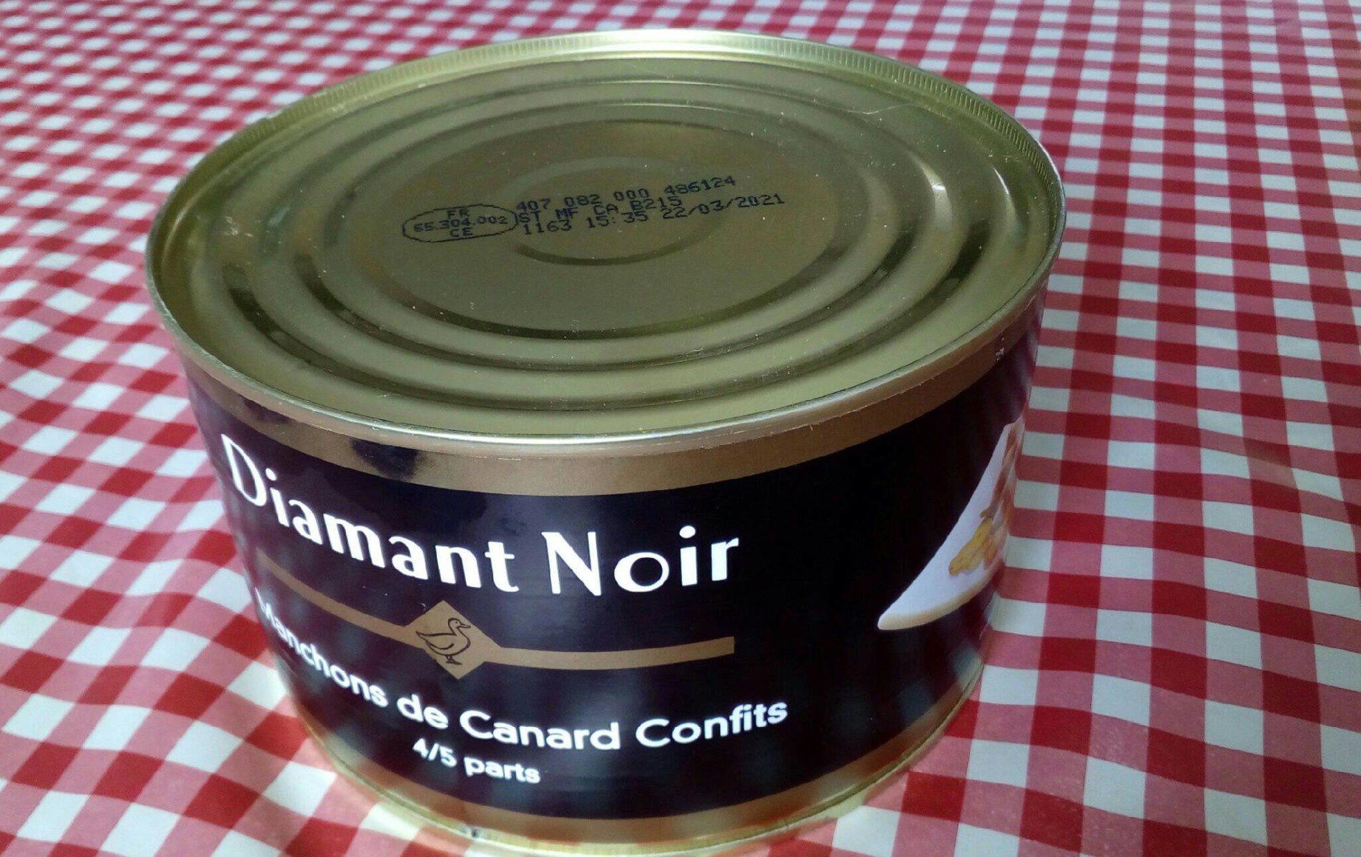 Manchons de canard confits - Product - fr