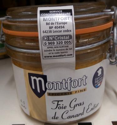 Foie gras de canard entier - Product