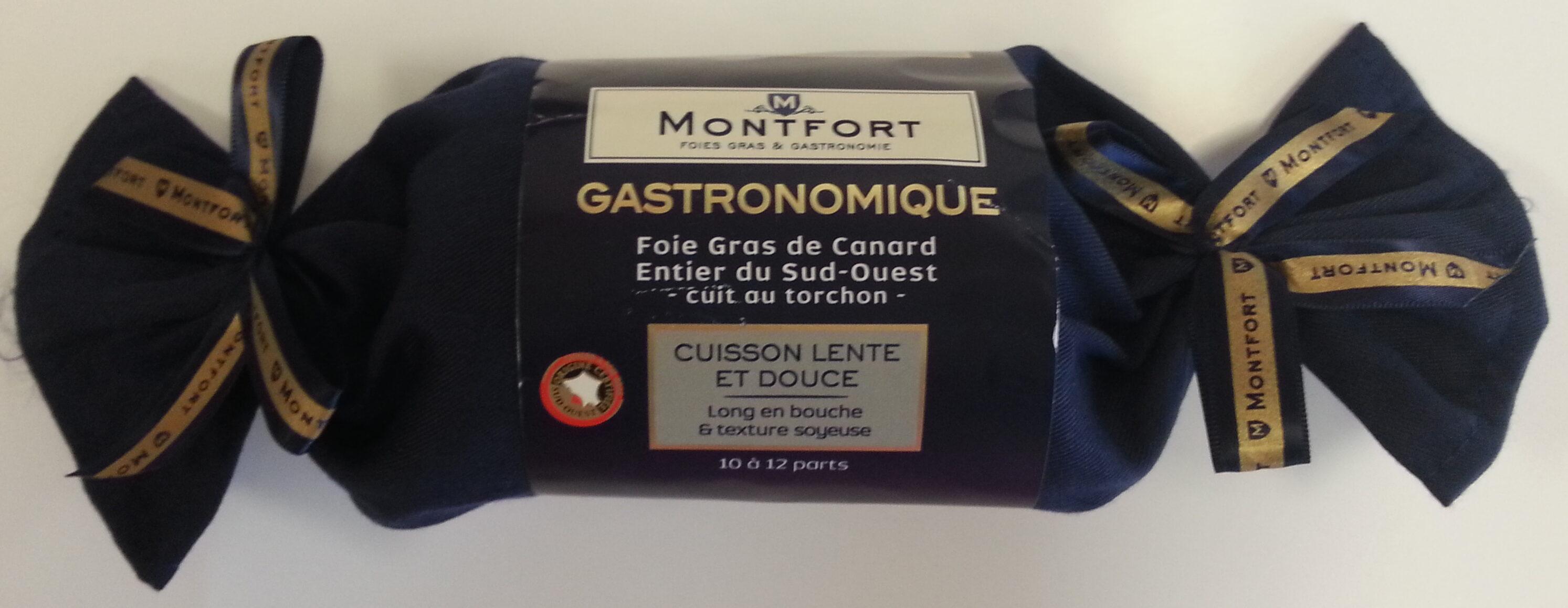 Foie gras de canard entier du Sud-Ouest cuit au torchon - Product - fr