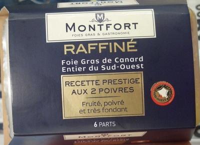 Foie gras de canard entier du Sud-Ouest, recette prestige aux 2 poivres - Product