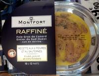 Foie gras de canard entier du Sud-Ouest, recette aux 2 poivres et au Sauternes - Produit - fr
