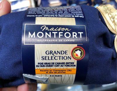 Foie Gras de Canard Entier du Sud-Ouest Grande Sélection - Product
