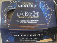 Bloc de foie gras de canard avec 30% de morceaux - Product