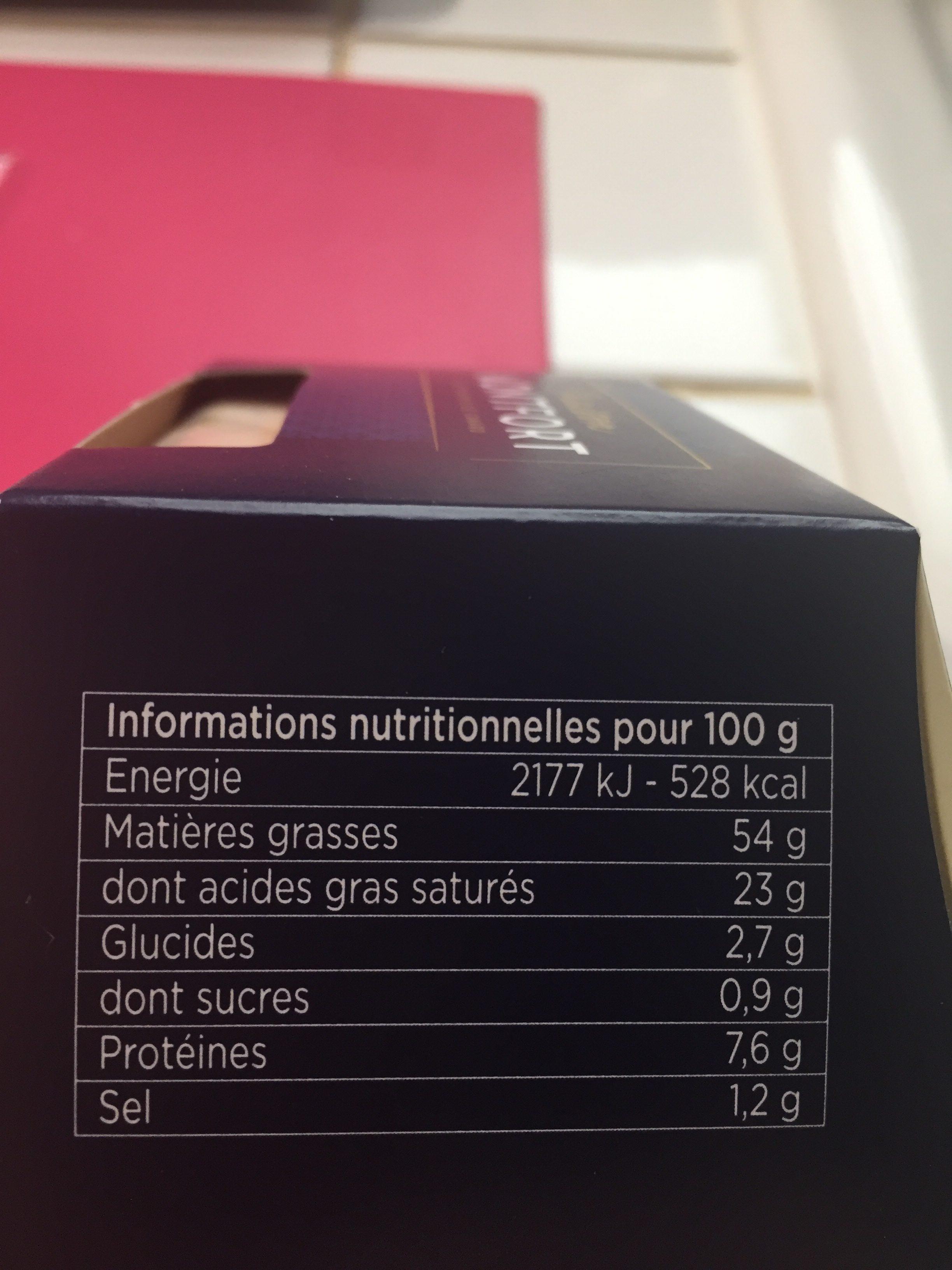 Foie gras de canard entier du Sud Ouest Excellence - Ingredients