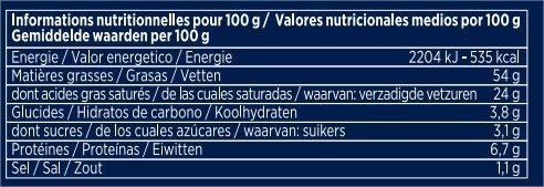 Foie gras de canard Création 2 - Informations nutritionnelles - fr