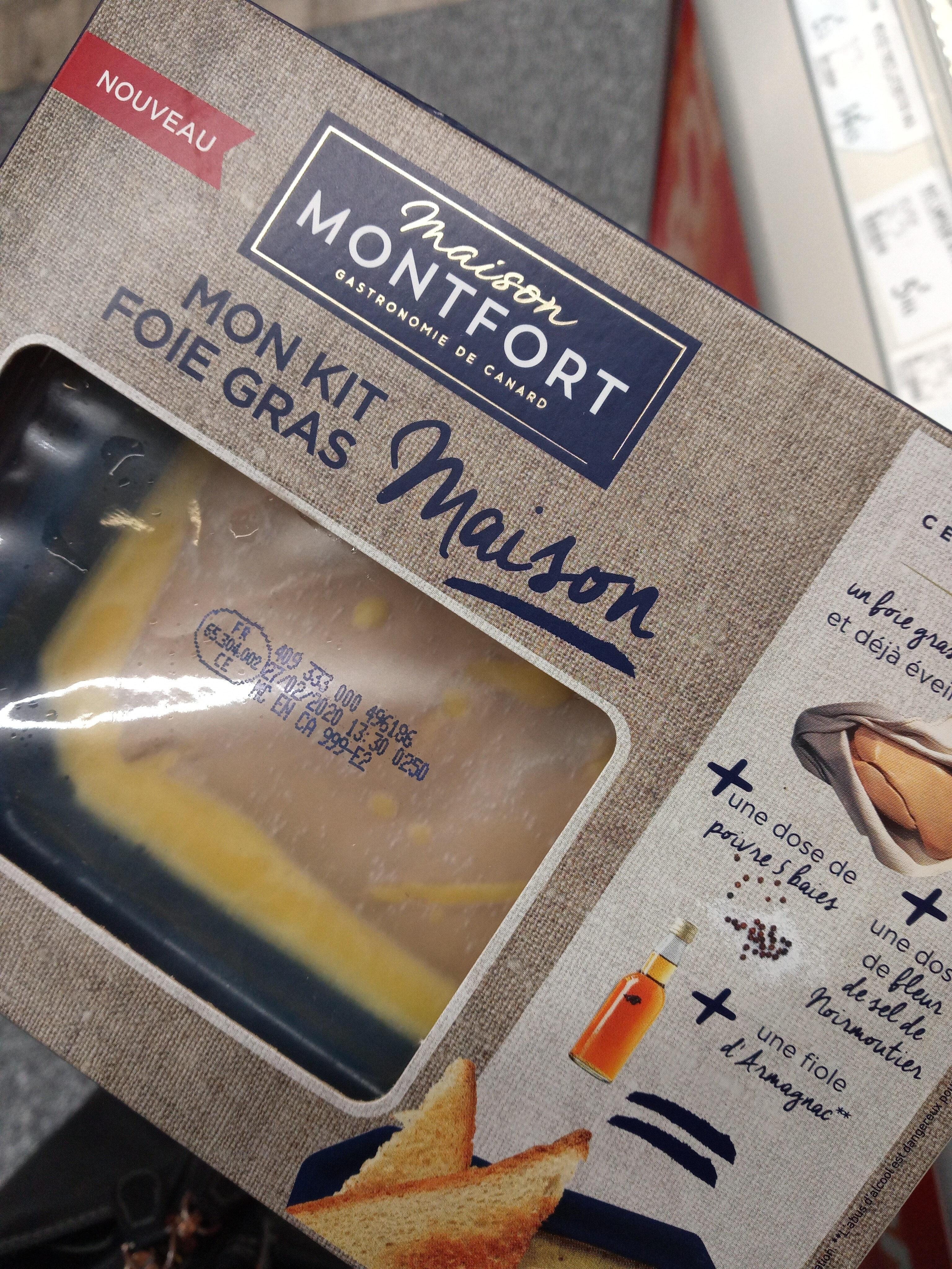 Mon kit foie gras  Montfort - Product - fr