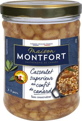 Cassoulet supérieur au confit de canard - Ingrediënten - fr