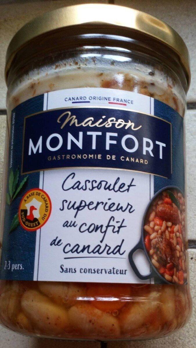 Cassoulet supérieur au confit de canard - Produit - fr