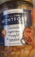Cassoulet superieur au confit de canard - Produit - fr