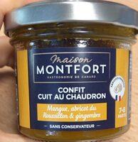 Confit d'abricot du rousillon, mangue & gingembre - Produkt - fr
