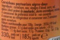 Mini croquants - Ingrédients - fr