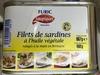 Filets de Sardines à l'Huile Végétale - Product