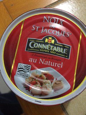 Noix de St Jacques au Naturel - Produit
