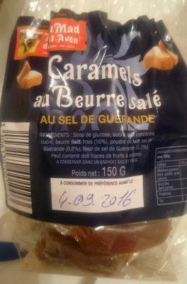 Caramel au beurre salé - Produit