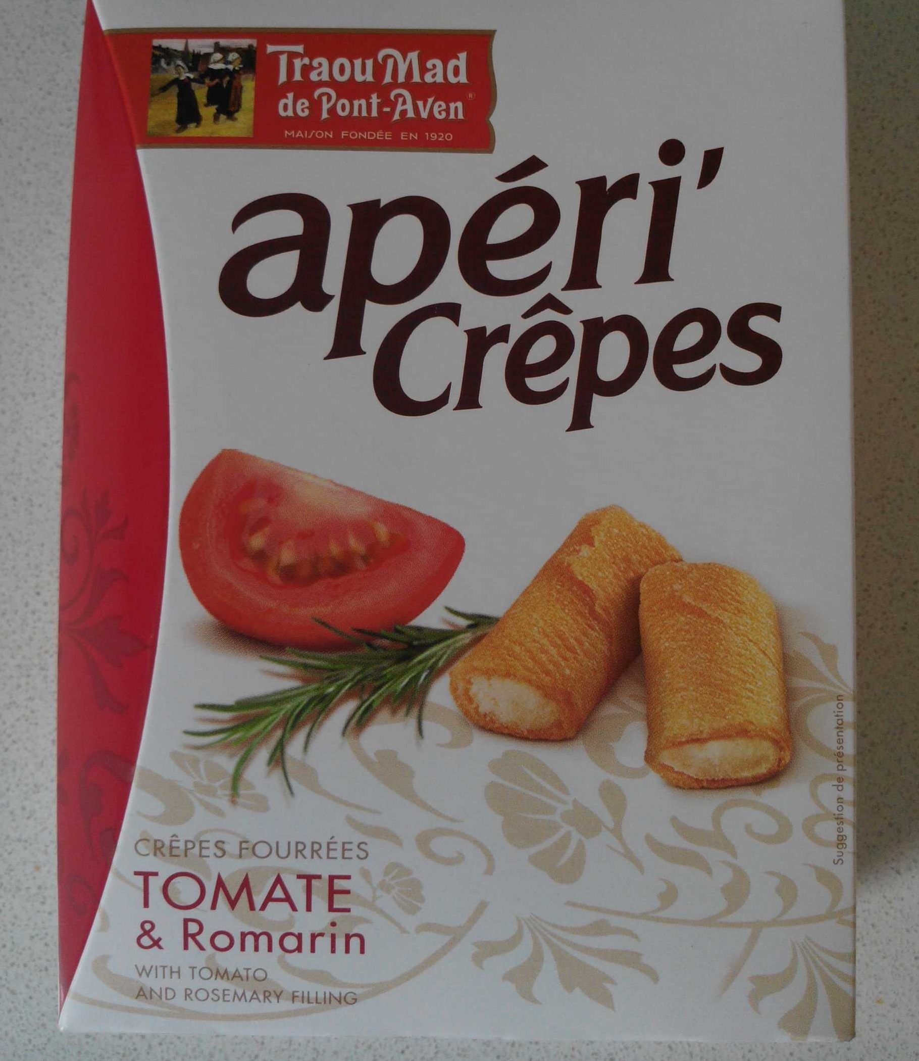 Apéri' Crêpes tomate & romarin - Product - fr