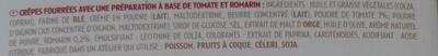 Apéri' Crêpes tomate & romarin - Ingrédients - fr