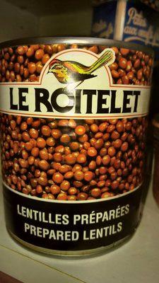 Conserve lentilles - Produit