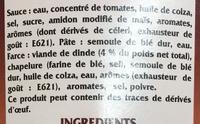 Ravioli halal - Ingrédients - fr