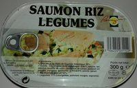 Saumon riz legumes - Produit - fr