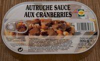 Autruche Sauce aux Cranberries - Product - fr