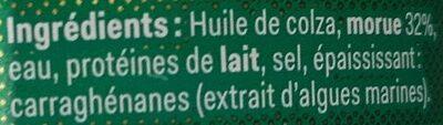 Brandade de Nimes - Ingrédients - fr