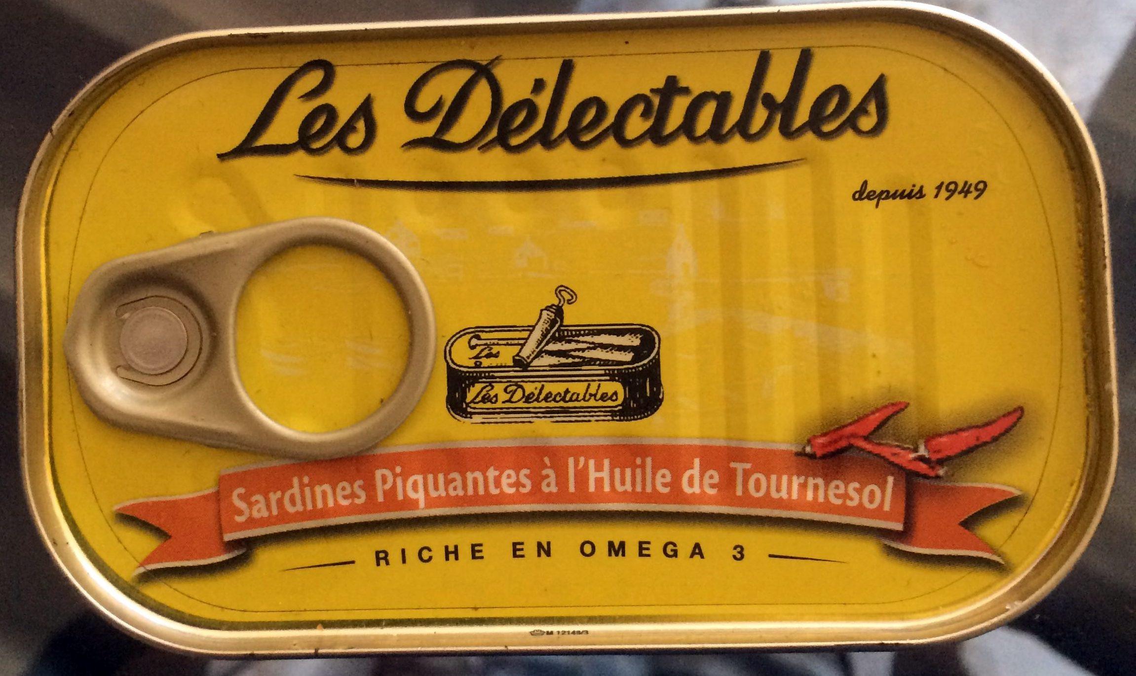 Sardines Piquantes à l'huile de Tournesol - Product - fr