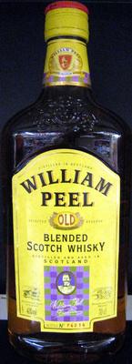 Whisky Ecosse blended sans âge 70 cl William Peel - Produit