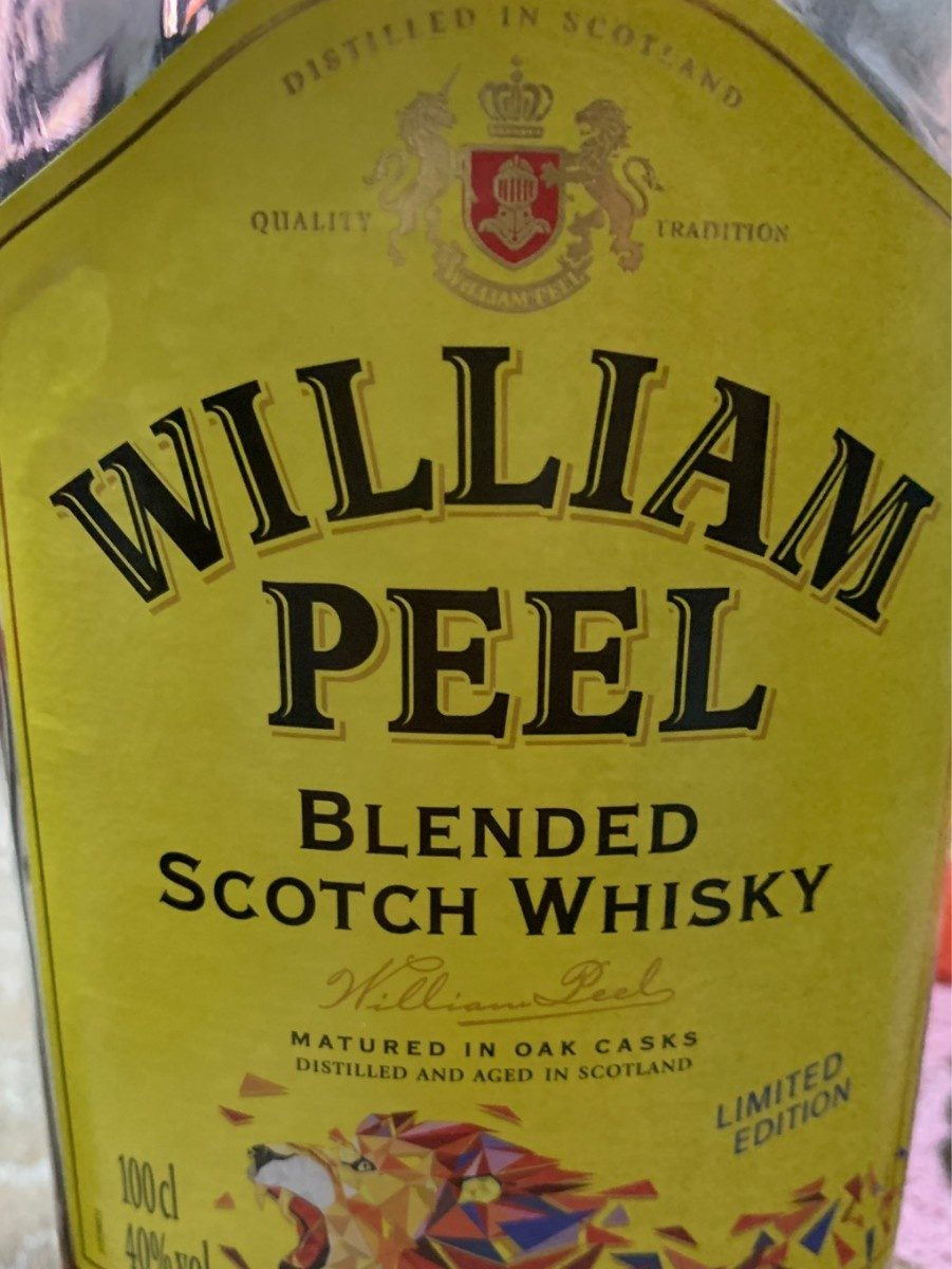 William peel - Produit - fr
