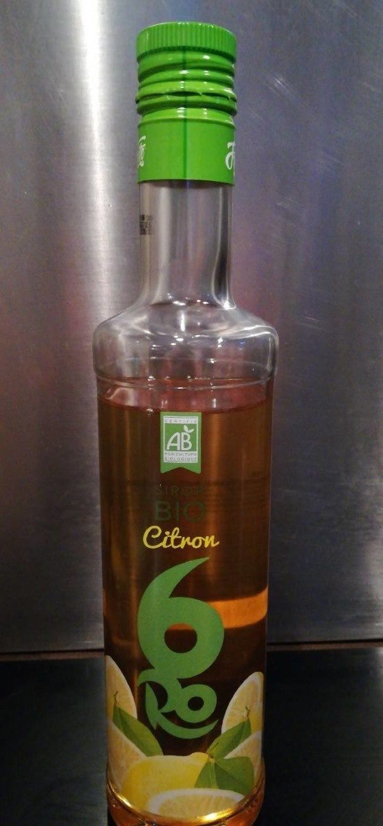 Sirop bio Citron - Product