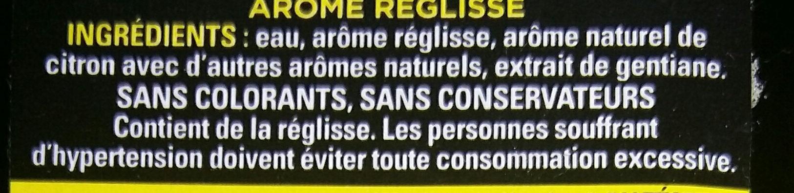 Antésite - Ingrediënten - fr
