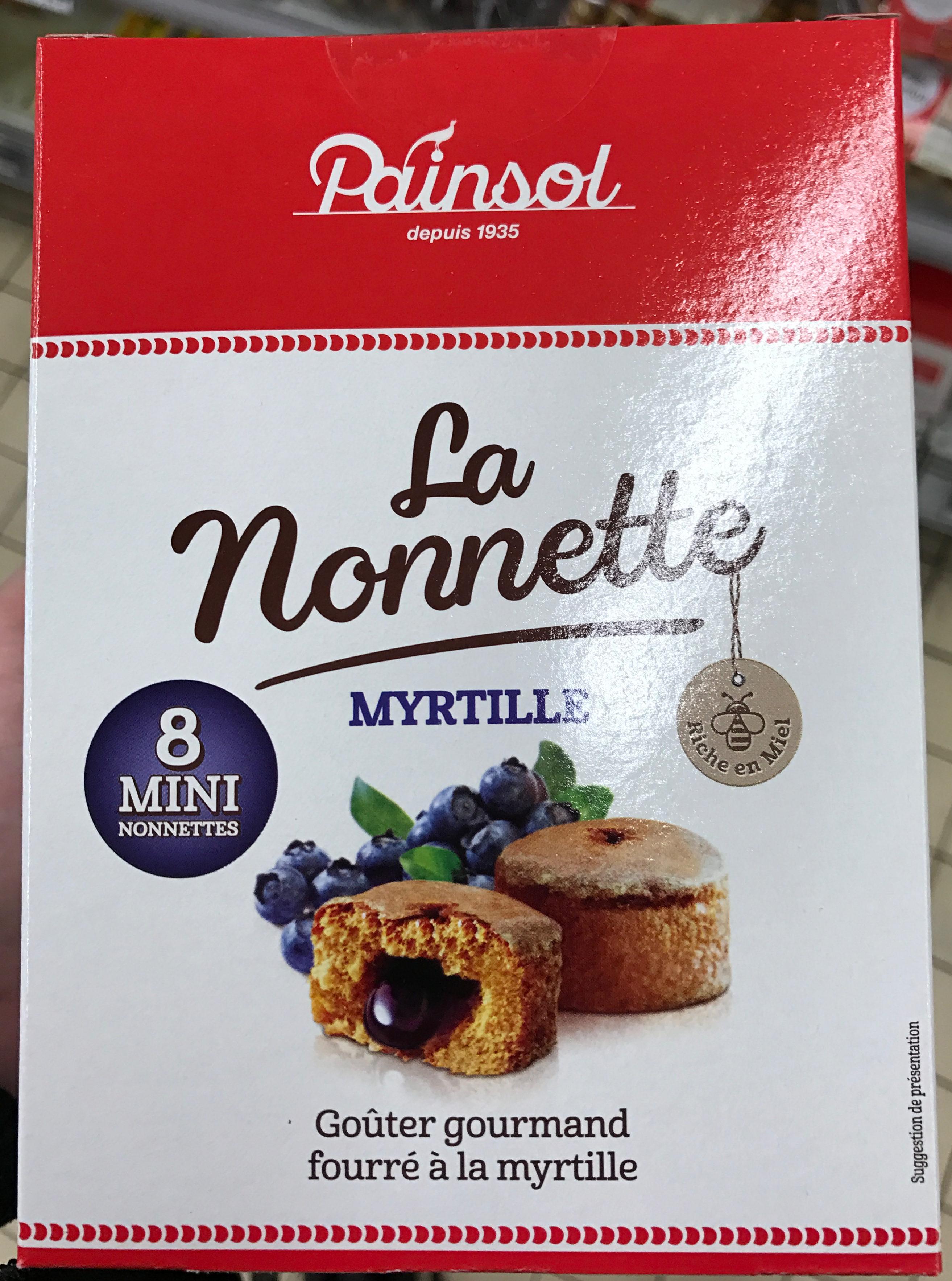La Nonnette Myrtille - Produit
