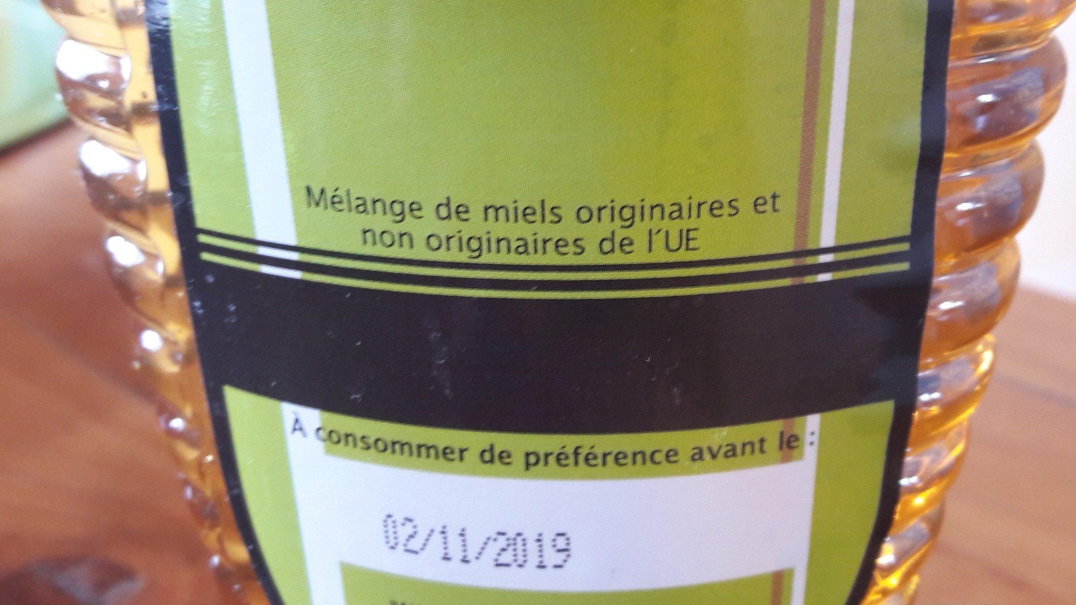Miel de fleurs bio - Ingredients - fr