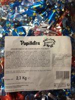 Papillotes chocolat - Product - fr
