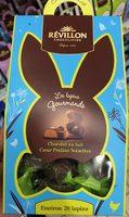 Les lapins gourmands Chocolat au lait Coeur Praliné Noisettes - Product