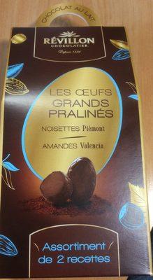 Les œufs grands pralinés noisettes-amandes - Produit