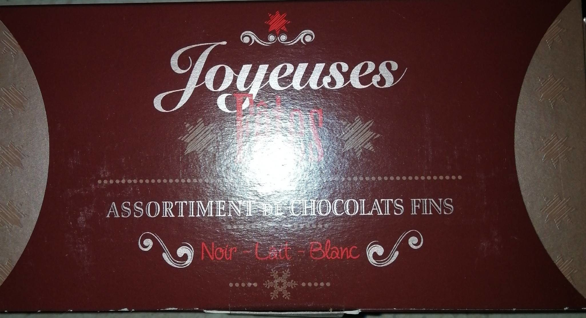 assortiment de chocolats fins - Produit