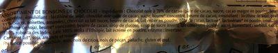 Papillotes Grands cafés - Ingrédients