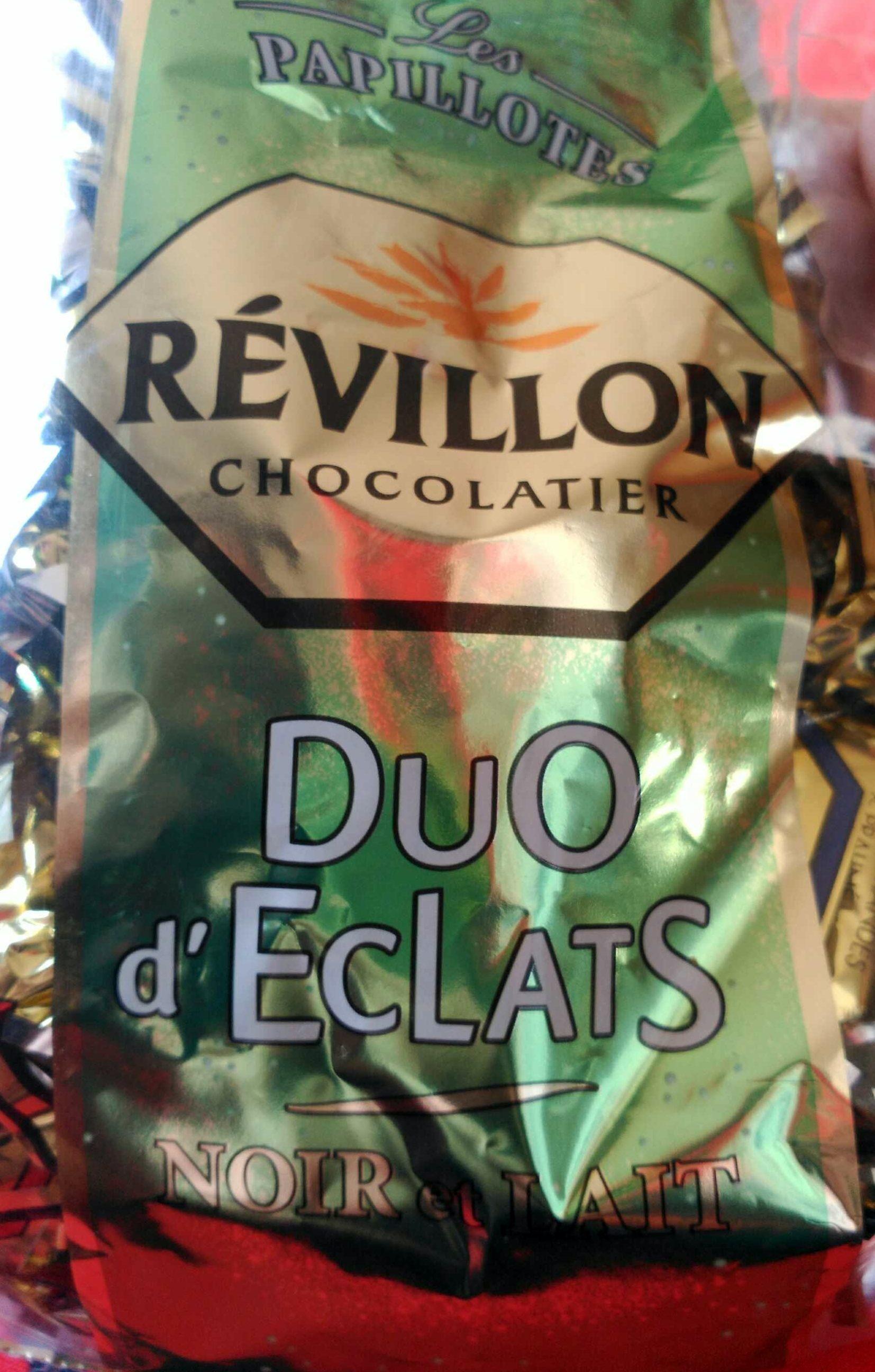 Duo d'Éclats Noir et Lait - Produit - fr