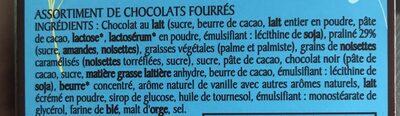 Les Oeufs en chocolat au lait 2 recettes REVILLON - Ingredients