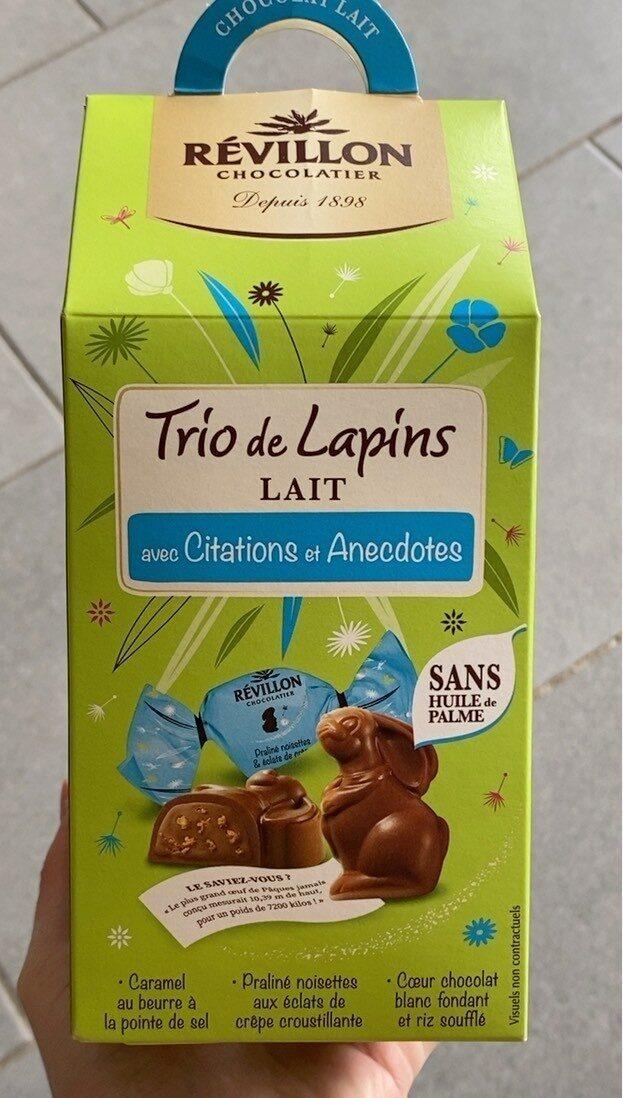 Trio de lapins lait - Prodotto - fr