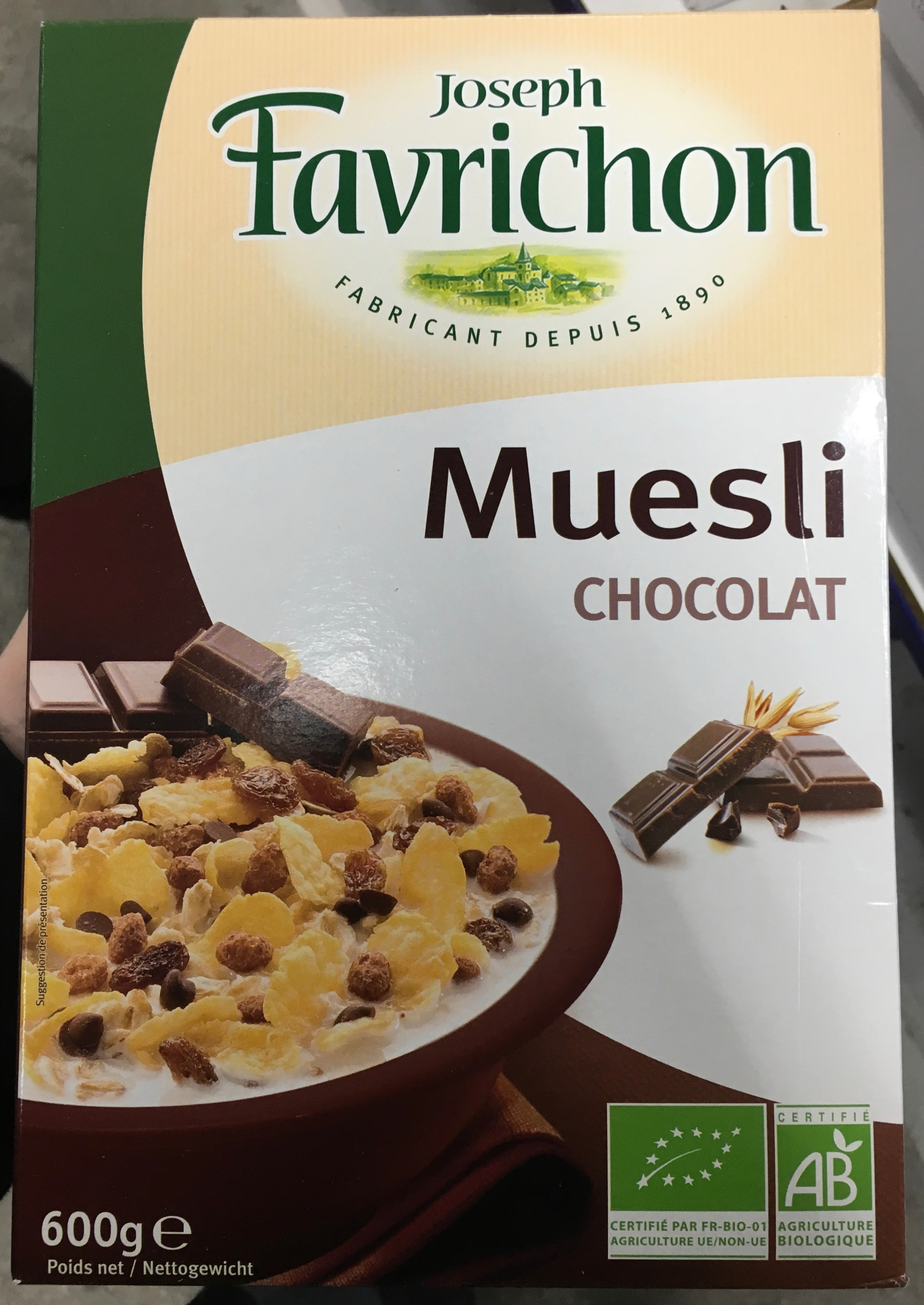 Muesli chocolat - Product - fr