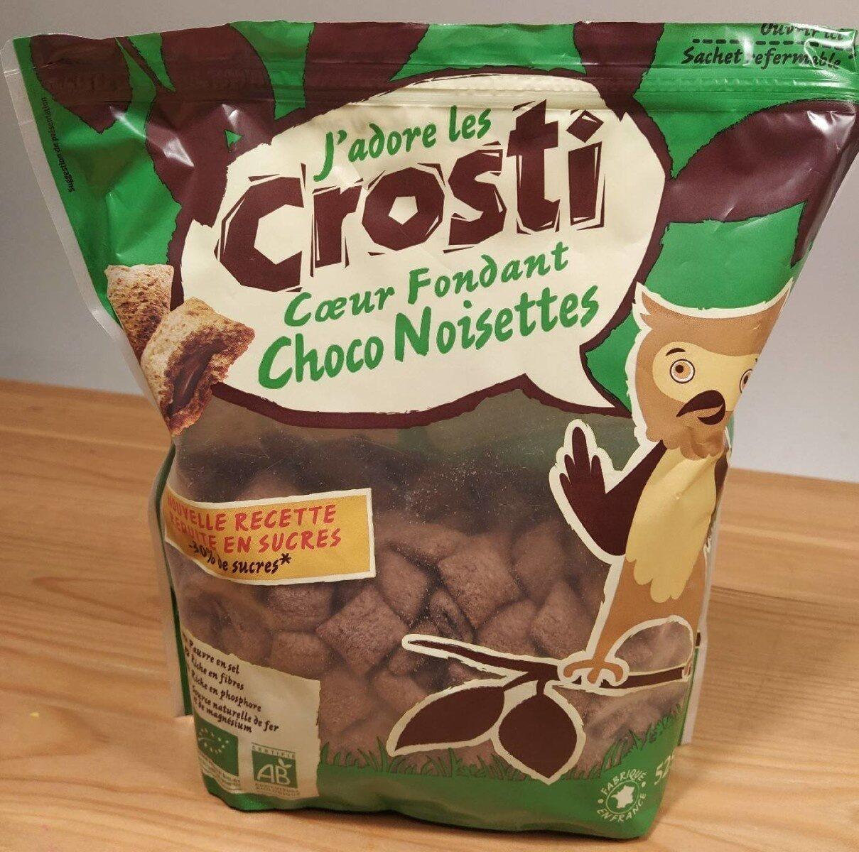 Crosti cœur fondant au chocolat noisette - Prodotto - fr