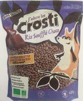 Crosti Riz soufflé choco - Produit
