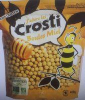 Crosti boules miel - Produit